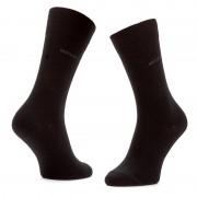 Három pár hosszú férfi zokni BOSS - Threepack Rs Sp 50274157 Black 001
