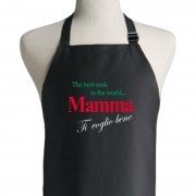 The Best Cook In The World Apron - Mother (Italian)