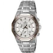 Casio Chronograph White Round Watch -EF-540D-7AVDF
