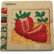 Beleduc-Layer Puzzle Strawberry