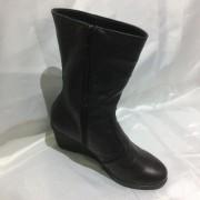 Sandale dama din piele naturala - Rosu Lac - 025 RL