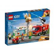 Stingerea incendiului de la Burger Bar 60214 Lego City