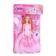 Tickles Preety Beautiful Doll with Beauty Set and Accessories
