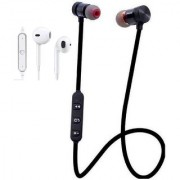 PREMIUM E COMMERCE Classical Magnetic Earphone and Sports Headset Bluetooth Combo - Multi- Color