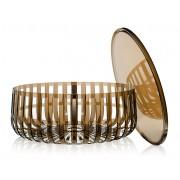 Kartell Panier Container - braun transparent - Ausstellungsstück