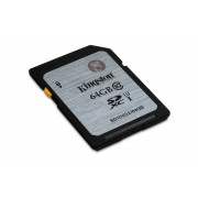 Secure Digital Card Kingston 64GB UHS-I Class 10 (45MB/s) -SD10VG2