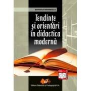 Tendinte si orientari in didactica moderna