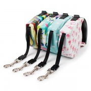 Automatic Retractable Walking Dog Leash Lead Pets Cats Puppy Leashes Multi Pattern