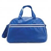Geanta sport de bowling, pvc, Everestus, GS4, albastru, saculet de calatorie si eticheta bagaj incluse