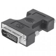 Manhattan Adattatore DVI-I a VGA analogico M/F