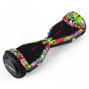 Hoverboard AirMotion H1 Purple Graffiti 6,5 inch