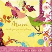 moederdagkaart woodmansterne - mum thank you for everything - vogels