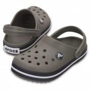 Crocs - Kid's Crocband Clog - Sandales de marche taille C12, gris