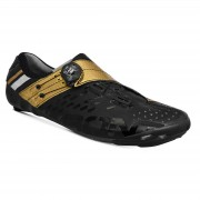 Bont Helix Road Shoes - EU 48 - Black/Gold