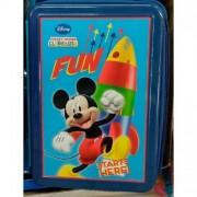 Penar dublu cu accesorii Mikey Mouse
