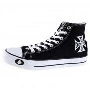Cipele muške Zapad Obala Choppere - Warriors - Crno - WCCSH001ZW