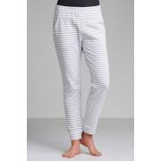 Womens Mia Lucce Slouchy Jogger - Stripe Sleepwear Nightwear