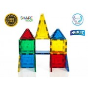 Award Winning Magnetic Stick N Stack SHAPE MAGS Junior set 32 pieces 8 different shapes