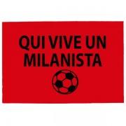 Tréfás Lábtörlő / Olasz foci AC Milan szurkoló