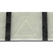 Taktila etiketter 2X2 cm varningstriangel en styck