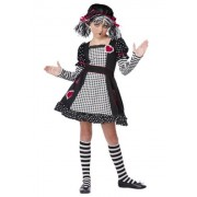 California Costumes Rag Doll Child Costume, X Small
