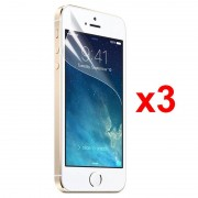 Protector de Ecrã Xqisit para iPhone 5 / 5S / SE - 3 Unidades