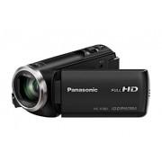 Panasonic HC-V180EG-K Full HD camcorder (1/5, 8 inch sensor, Full HD, 50x optische zoom, 28 mm groothoek, opt. 5-assige beeldstabilisator Hybrid OIS+) zwart