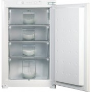 CDA FW482 Static Built In Freezer - White