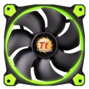 Вентилатор Thermaltake Riing 120x120x25 12v, 1500 RPM, LED GREEN, THER-FAN-F038-GR