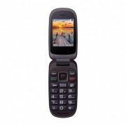 Maxcom MM818BB kártyafüggetlen, extra nagy gombokkal, vészhívóval fekete