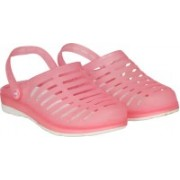 Misto Women pink Clogs