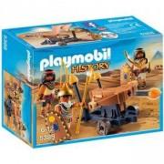Комплект Плеймобил - Египетска войска с балиста, Playmobil, 2900067