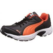 Puma Men's Axis IV Xt Idp Puma Black and Mandarin Red Multisport Training Shoes - 6 UK/India (39 EU)