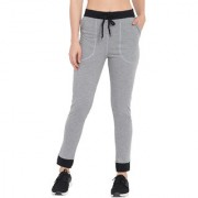 Cliths Yoga Gym and Active Sports Fitness Black Leggings Tights for Women (Grey & Black)