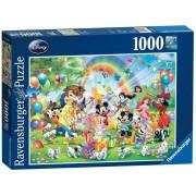 Puzzle Ziua de nastere a lui Mickey, 1000 piese