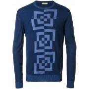 Versace свитер с круглым вырезом Versace Jeans