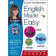 English Made Easy Ages 5-6 Key Stage 1 by Carol Vorderman