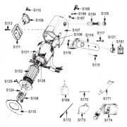 """Spínač brousícího mechanismu pro řezačku RSD 100-4"""", S154"""