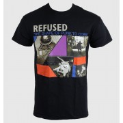 tricou stil metal bărbați unisex Refused - The Shape Of Punk - KINGS ROAD - 20000316