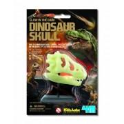4M Glow in The Dark Dinosaur Skull