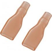 Manson de izolare din PVC moale pentru papuci polati neizolati 6,3 mm, rosu