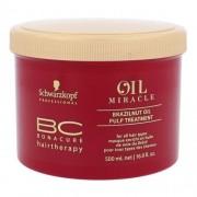 Schwarzkopf BC Bonacure Oil Miracle Brazilnut Oil 500 ml vyživujúca maska pre všetky typy vlasov pre ženy