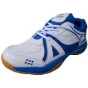 Port Unisex Active-Plus PU Squash Shoes For Men(White)