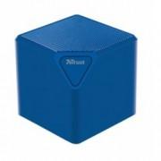 Тонколона Trust Ziva UR wireless speaker, 1.0, 3W, Bluetooth, SD card slot, micro USB, синя