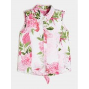 Guess Blouse All-Over Print - Bloemmotief - Size: 14