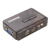 Switch KVM Edimax EK-UAK2, nr de calculatoare conectate: 2, rezolutie: 2048x1536