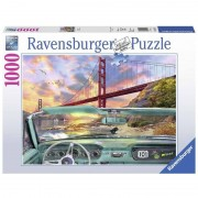 Ravensburger puzzle 1000 pezzi golden gate 19720