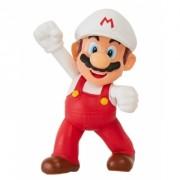 World of Nintendo, minifigurina Fire Fist Bump Mario 6 cm