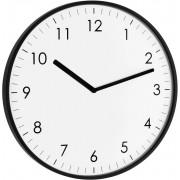 Ceas de perete cuarţ, negru, TFA 60.3026.01