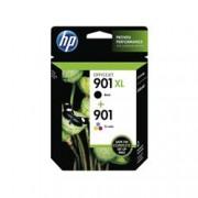 ORIGINAL HP Multipack nero / differenti colori SD519AE 901XL / 901 2x Tinte: 1x CC654AE (901 XL) + 1x CC656AE (901)